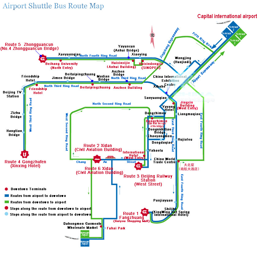 Beijing Bus Route Map Beijing Maps China Tour Advisors