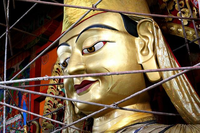 Master Tsongkhapa Frescoes