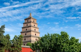 Xian Big Goose Pagoda 1