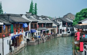 Traditional Water Town and Dinner Cruise on Huangpu River