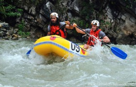 Hongkou Rafting Half Day Tour From Chengdu