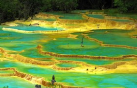 Huanglong Five colored Pool