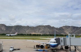 Arrival in Lhasa