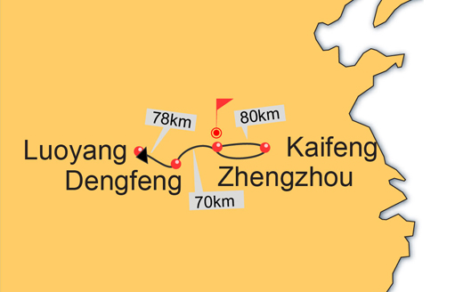 Zhengzhou Kaifeng Dengfeng Luoyang 4 Days Tour China Tour