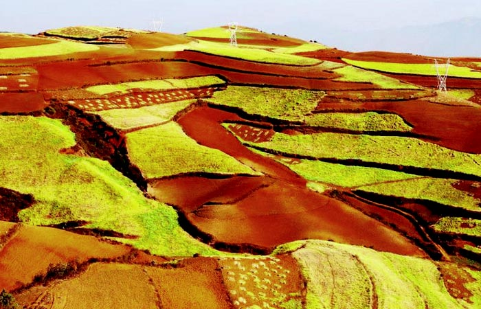 Dongchuan Luoxia Valley