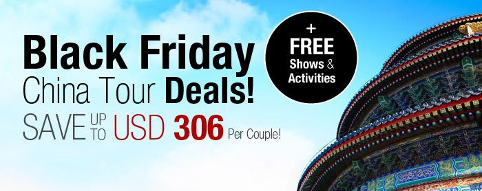 Black Friday China Tour Deals!