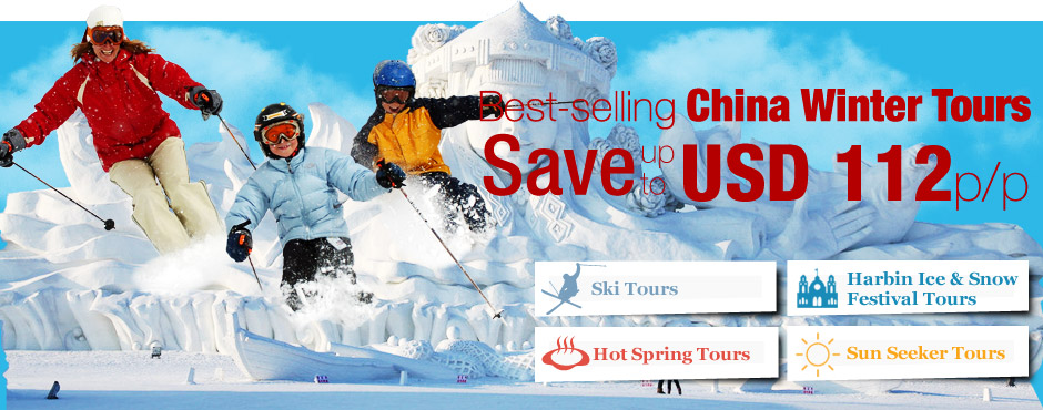 Best-selling china winter tours, save up to usd 112p/p
