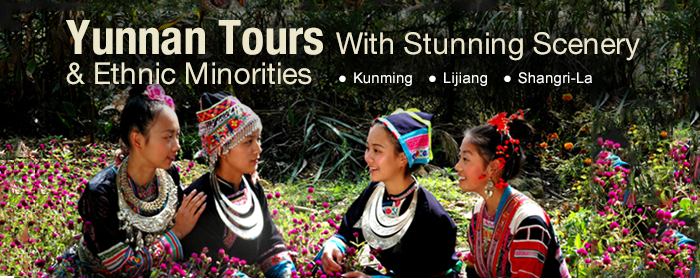 Yunnan tours with stunning scenery & ethic minorities
