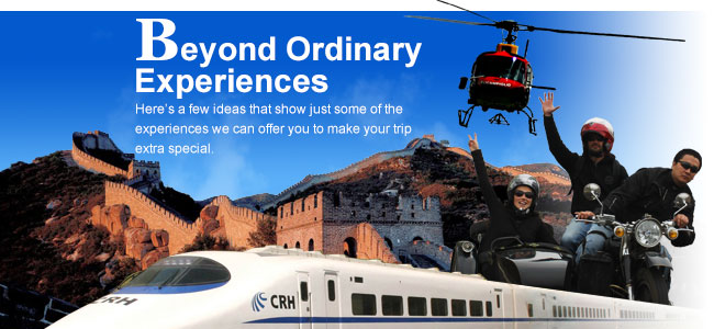 Beyond Ordinary Experiences?