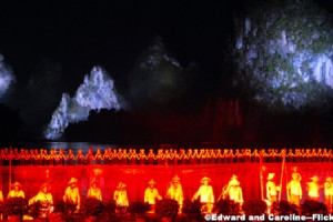 Enchanting Performance of  Impression of Liu Sanjie in Yangshuo