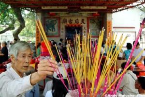 The Colorful Tin Hau Festival