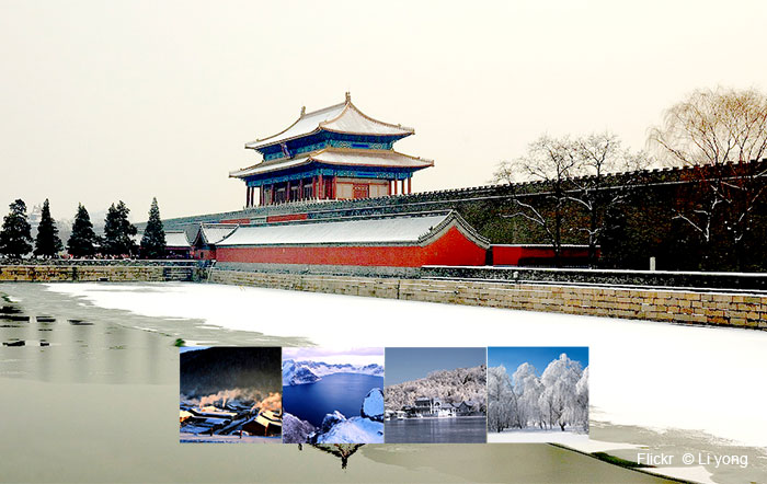 Winter in Northern China