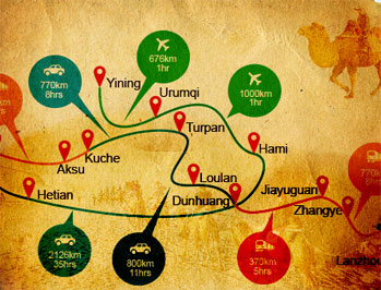 Silk Road Route