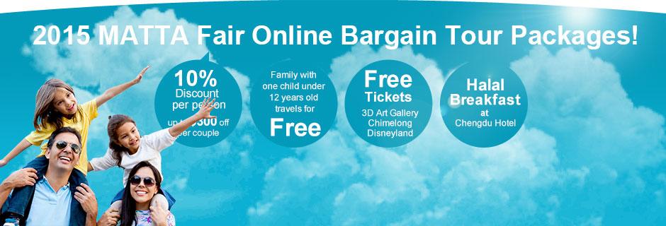 2015 MATTA Fair Online Bargain Tour Packages !