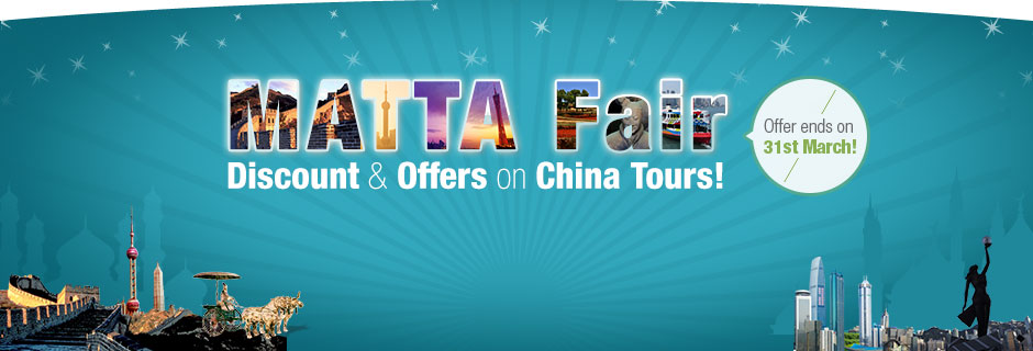 Matta Fair 2015 Promotion Package for China Muslim Tour