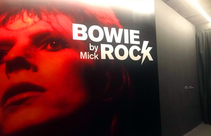 Photo Exhibition of Bowie at 798 Art Zone