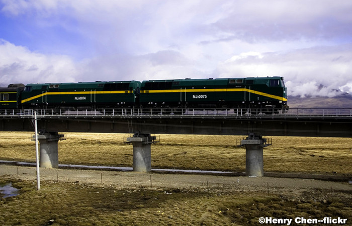 Qinghai Tibet Railway to Build 5 More Stations