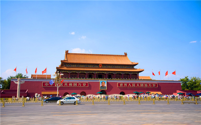 Tiananmen Gate Tower Reopens