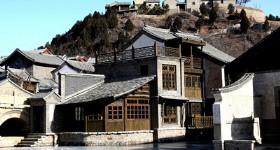 Visiting the Frozen Gubei Water Town in Beijing