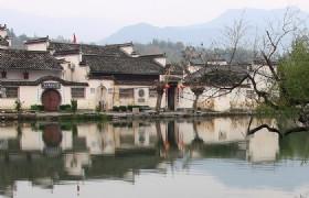 hongcun village yi pin gen lou exterior door