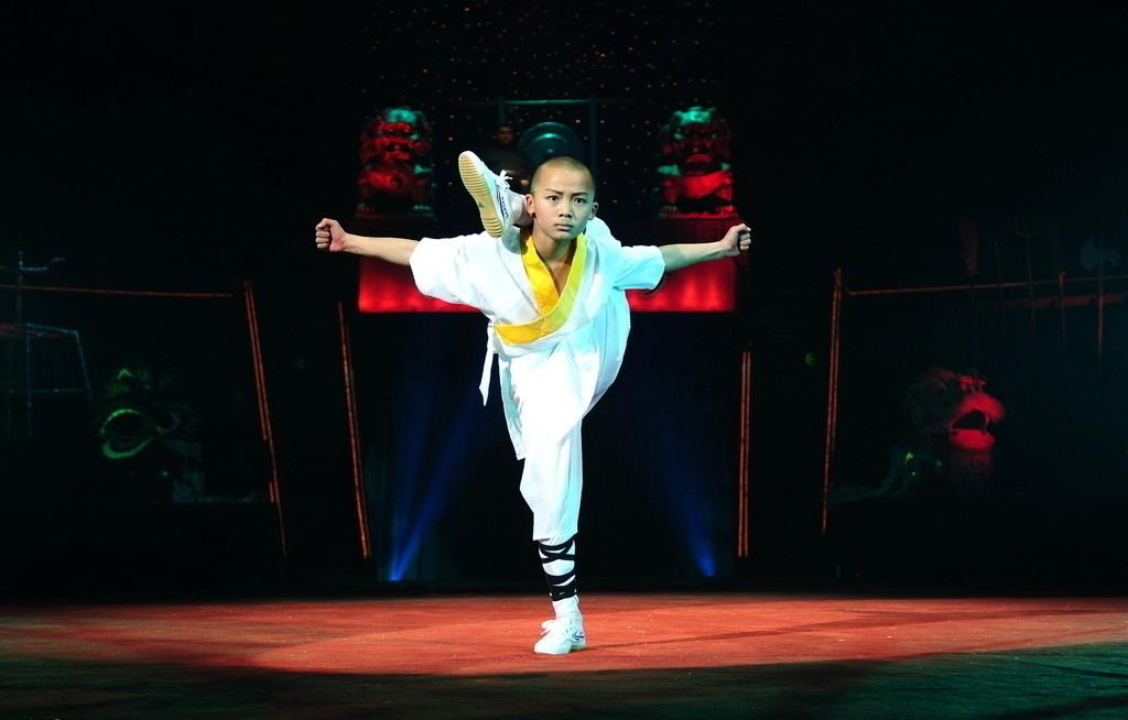 Kungfu Show in Beijing