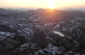 Simatai Sunset Beijing China 002
