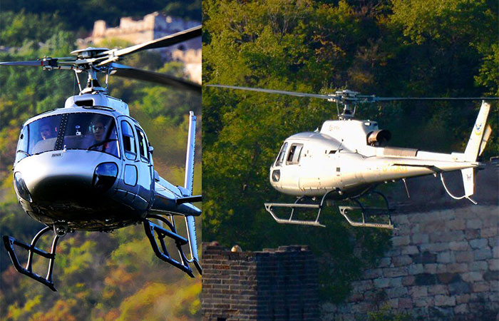 Badaling Great Wall Helicopter Tour 15 Minutes