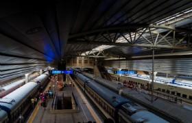 Beijing Railway Platform