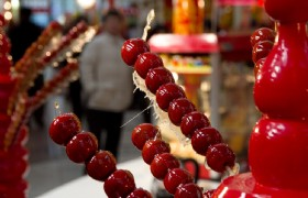 Sugar Coated Haws On A Stick