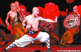 Beijing Night Tour- Kung Fu Show with Transfer