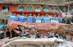 Dazu Rock Carving 1