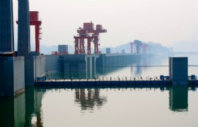 three gorges dam site shiplocks