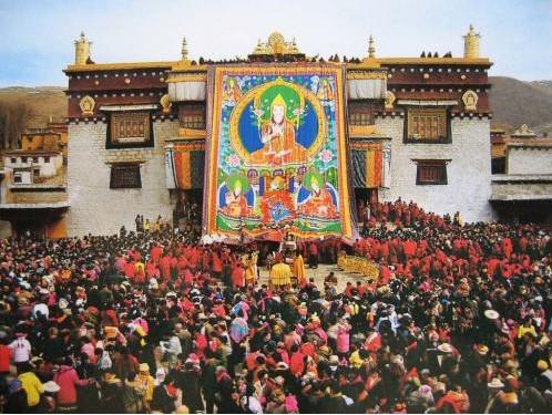 Jiuzhai Valley Tibetan New Year