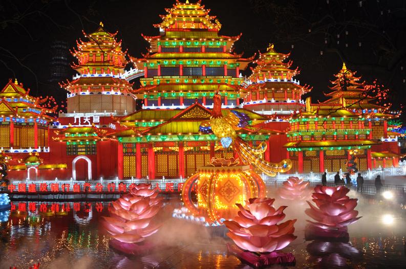 Lantern Festival in Zigong Sichuan