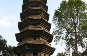 Black Pagoda in Fuzhou