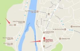 wuyishan hotel map