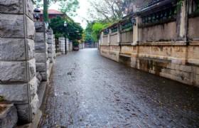 gulangyu street scenery