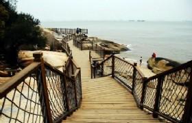 Waterfront plank Xiamen
