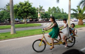 Bike RidING in Xiamen