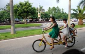 bike ride in xiamen