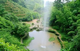 Wuyi Mountain waterfalls