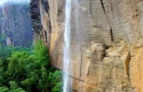 Wuyi Mountains Water Curtain Cave