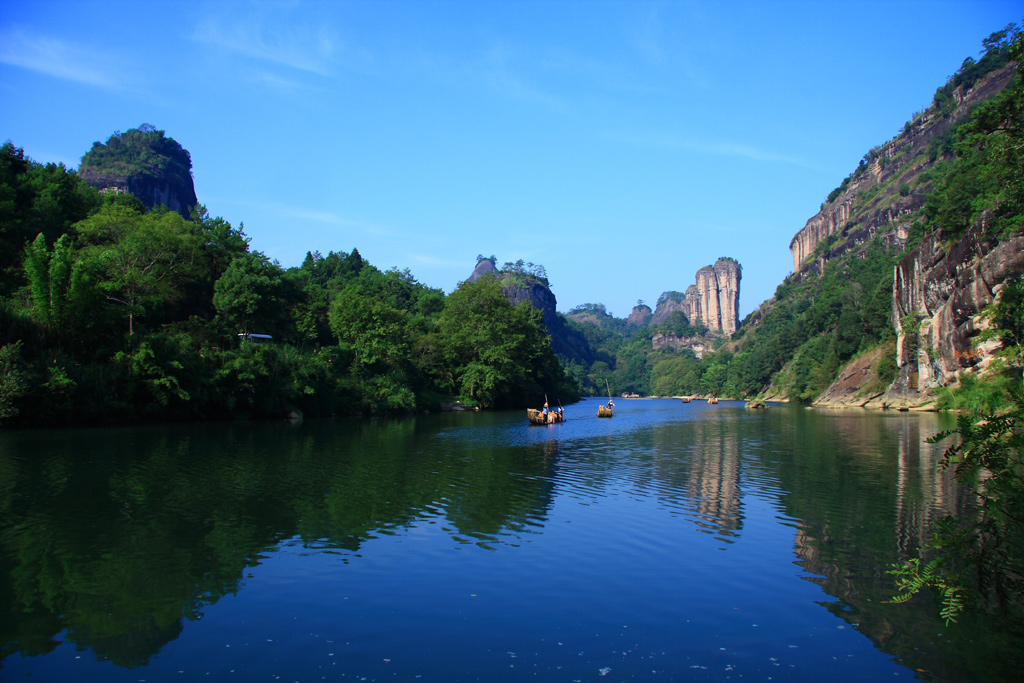 Fuzhou Wuyishan Mountain & Xiamen 6 Days Tour
