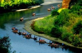 nine bend stream rafting 2