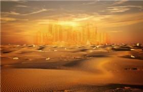 Dunhuang Desert Mirage