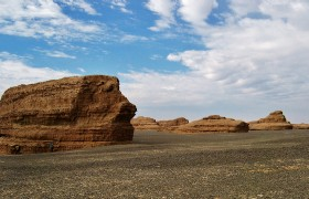 Yardang National Geopark