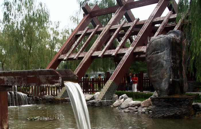 Captivating ... Lanzhou Waterwheel Garden ...