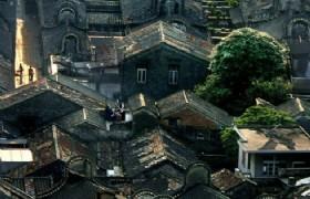 Donghuali birdeye view