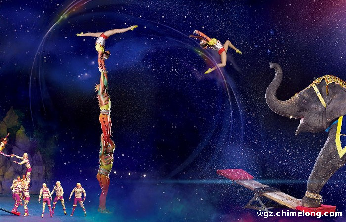 Guangzhou Chimelong International Circus Evening Tour (2nd Class)