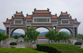 Paifang in Shunfengshan